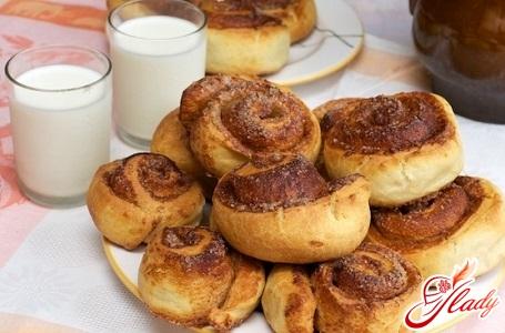 рецепт солодких здобних булочок