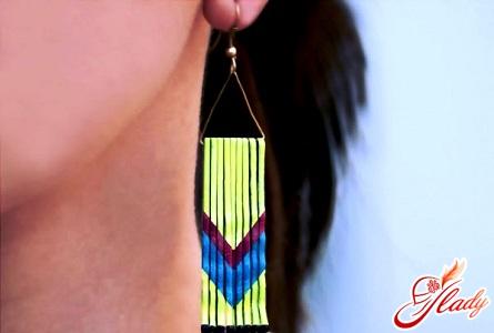 beautiful earrings yourself