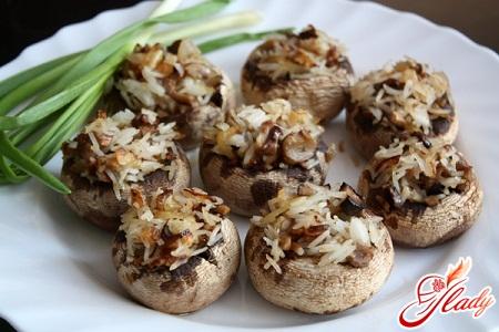 stuffed mushrooms