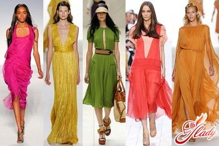літні сукні з шифону