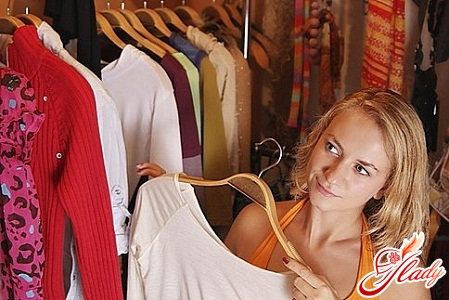 perfect order in the closet