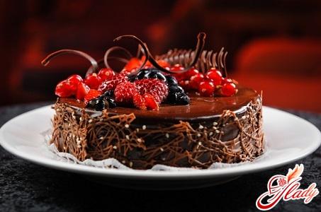 шоколадний торт на кефірі