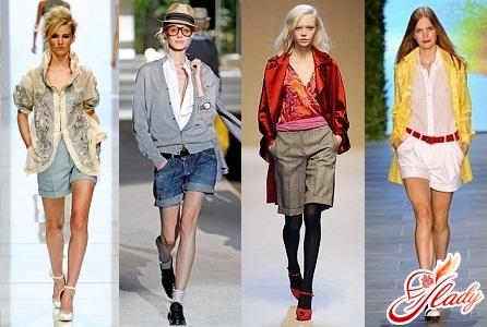 зимові жіночі шорти класичні