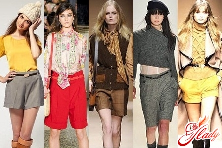 зимові жіночі шорти з ремінцем класичні