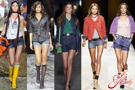 denim shorts 2012