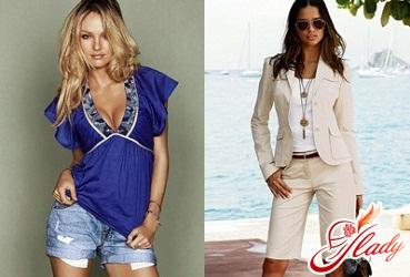 джинсові шорти жіночі 2016