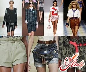 fashion shorts spring 2016