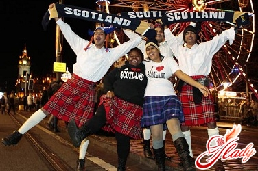 how to celebrate the new year in Scotland
