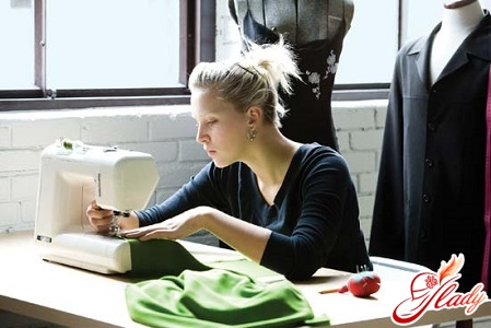 process of sewing curtains