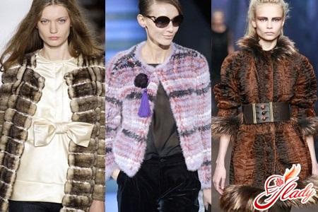artificial fur coats