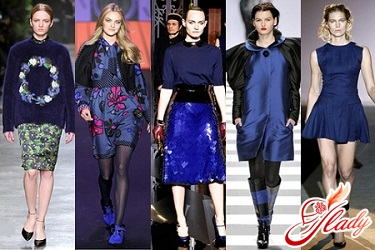 fashionable blue colors of clothing 2016