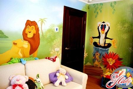 Fabulous design of a nursery