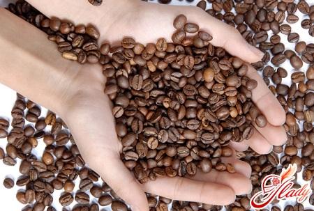 body scrub with coffee