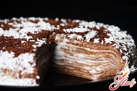 sweet pancake cake