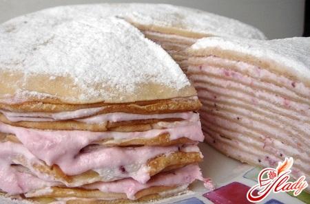 sweet pancake cake recipe