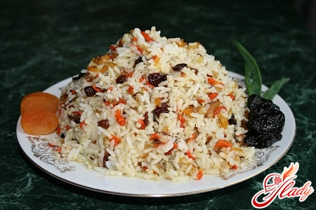 simple recipe for sweet pilaf