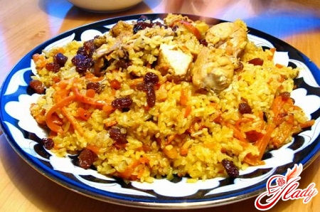 sweet pilaf cooking recipe