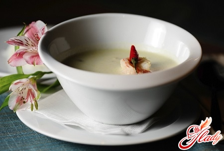 creamy soup with seafood recipe