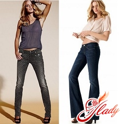 jeans with mote female