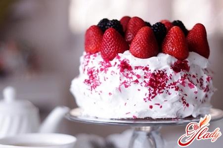 крем сметанний для торта