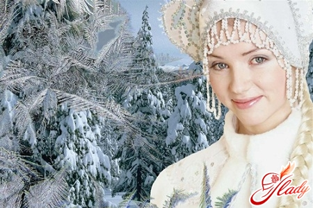 New Year's characters - Snow Maiden
