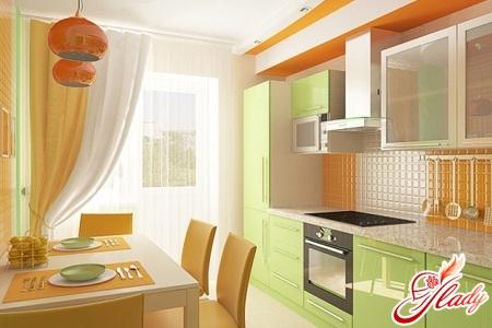 поєднання кольорів в інтер'єрі кухні