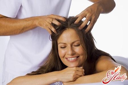 head massage with salt for hair growth