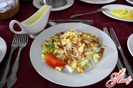 sauce for Caesar salad