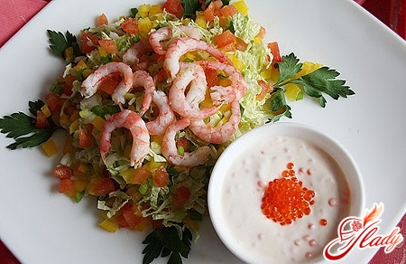 sauce for shrimp salad