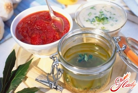 sauces for salads