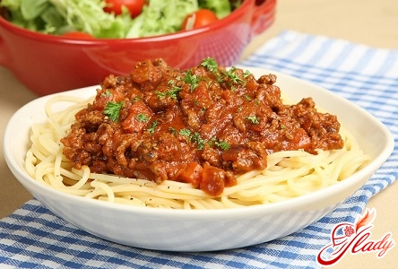 рецепт спагетті болоньєзе
