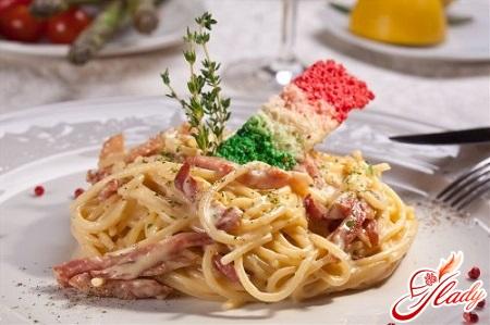 quick recipe for cooking spaghetti carbonara