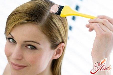 masking on hair
