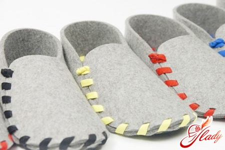 how to sew slippers with your own hands