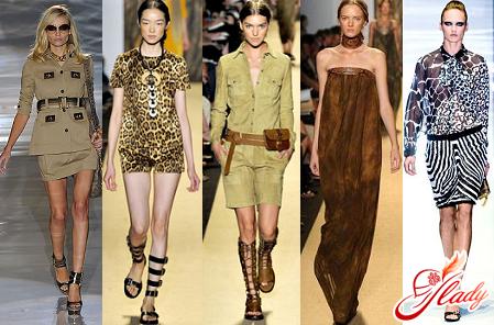 style safari in clothes
