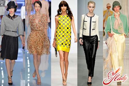 fashionable vintage clothing style