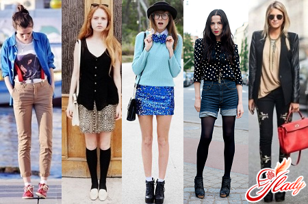 different styles of clothes for teens