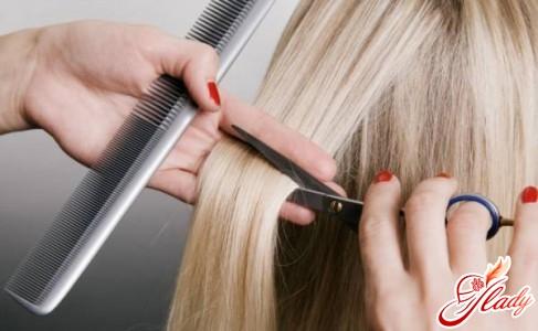 cutting with hot scissors