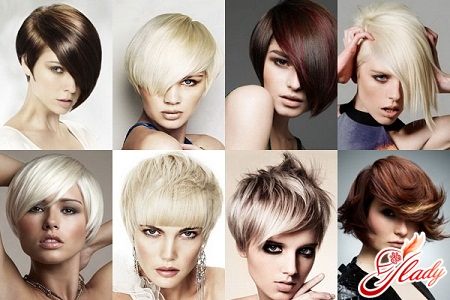 Fashionable haircuts for short hair 2016