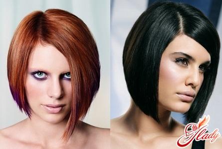 жіноча стрижка боб на коротке волосся