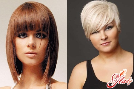 haircuts for oval face with bangs
