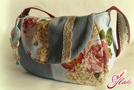handbag from jeans