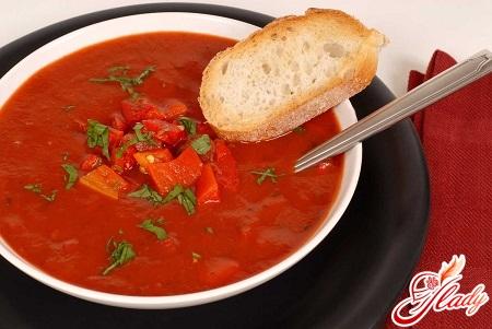delicious gazpacho soup