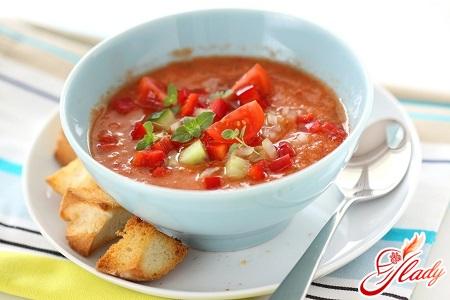 classic recipe for gazpacho