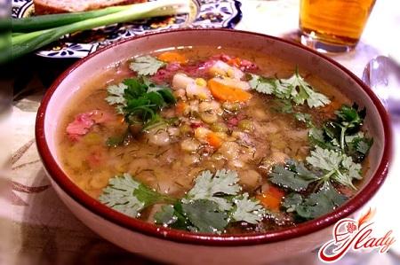 як приготувати гороховий суп з м'ясом