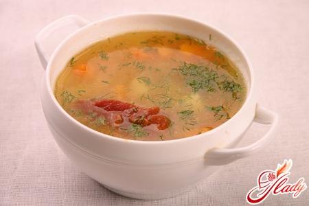 рецепт горохового супу