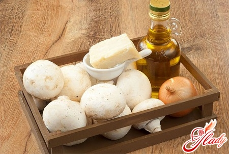 ingredients for soup puree