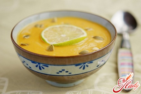 classic pumpkin soup puree