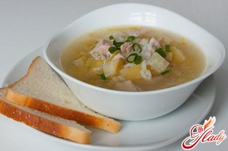 simple rice soup