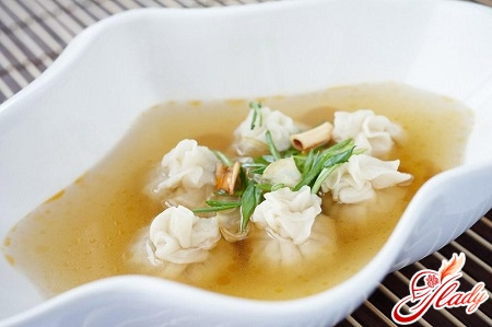 soup with dumplings recipe